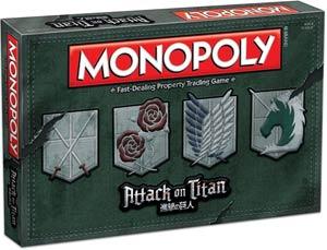 Monopoly Attack On Titan Edition
