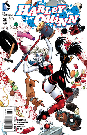 Harley Quinn Vol 2 #26 Cover C Incentive Amanda Conner Variant Cover