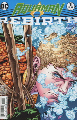 Aquaman Rebirth #1 Cover A 1st Ptg Regular Brad Walker & Drew Hennessey Cover