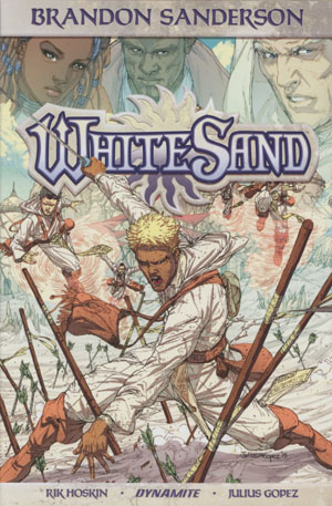 Brandon Sandersons White Sand Vol 1 HC Regular Edition