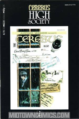 Cerebus High Society #7