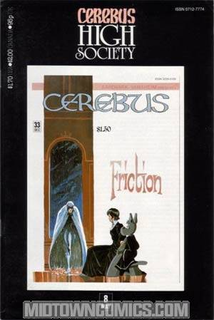 Cerebus High Society #8