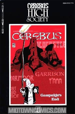 Cerebus High Society #17