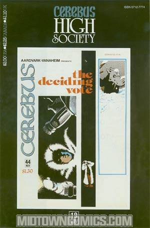 Cerebus High Society #19