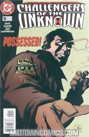 Challengers Of The Unknown Vol 3 #5