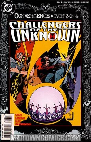 Challengers Of The Unknown Vol 3 #6