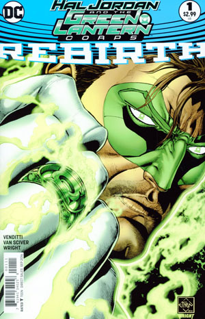 Hal Jordan And The Green Lantern Corps Rebirth #1 Cover A Regular Ethan Van Sciver Cover