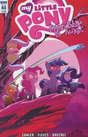 My Little Pony Friendship Is Magic #44 Cover A Regular Tony Fleecs Cover