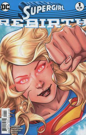 Supergirl Rebirth #1 Cover A Regular Emanuela Lupacchino Cover