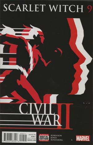 Scarlet Witch Vol 2 #9 (Civil War II Tie-In)