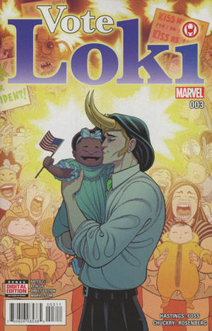 Vote Loki #3 Cover A Regular Tradd Moore Cover