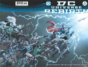 DC Universe Rebirth Special #1 Cover F 2nd Ptg Gary Frank Variant Cover