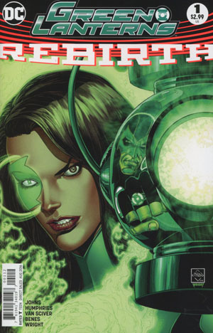 Green Lanterns Rebirth #1 Cover D 2nd Ptg Ethan Van Sciver Variant Cover