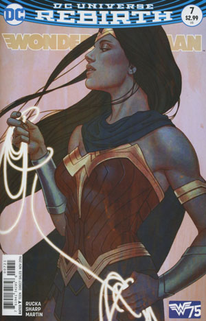 Wonder Woman Vol 5 #7 Cover B Variant Cover