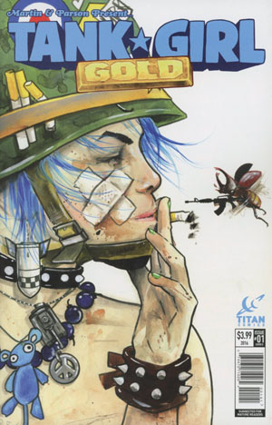 Tank Girl Gold #1 Cover D Variant Lora Zombie Cover