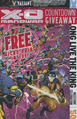 X-O Manowar Vol 3 #50 Cover A Regular All-Star Jam Cover