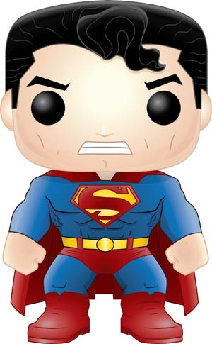 POP Heroes Batman The Dark Knight Returns Superman Previews Exclusive Vinyl Figure