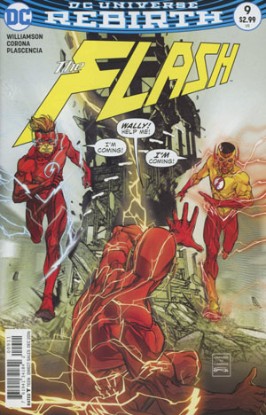 Flash Vol 5 #9 Cover A Regular Carmine Di Giandomenico Cover