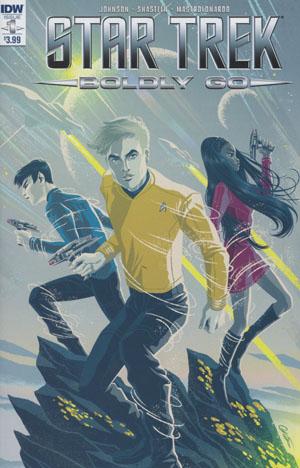 Star Trek Boldly Go #1 Cover A Regular George Caltsoudas Cover