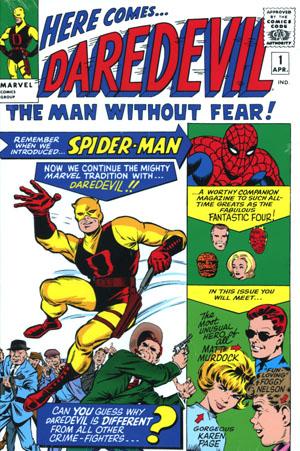 Daredevil Omnibus Vol 1 HC Direct Market Jack Kirby Variant Cover