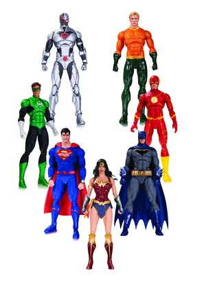 DC Rebirth Justice League Of America Action Figure 7-Pack