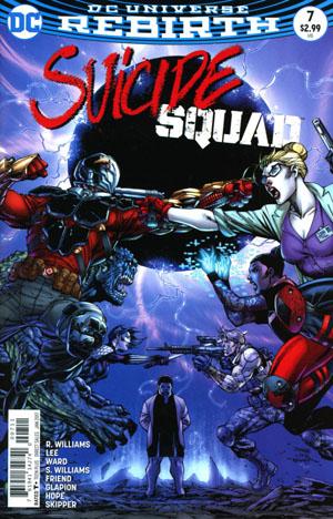 Suicide Squad Vol 4 #7 Cover A Regular Jim Lee & Scott Williams Cover