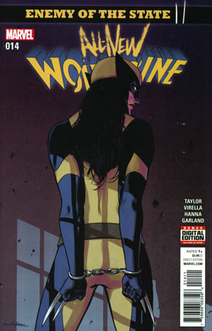 All-New Wolverine #14 Cover A Regular David Lopez Cover