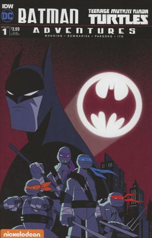 Batman Teenage Mutant Ninja Turtles Adventures #1 Cover B Variant Ciro Nieli Subscription Cover