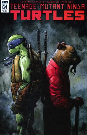 Teenage Mutant Ninja Turtles Vol 5 #64 Cover A Regular Dave Wachter Cover
