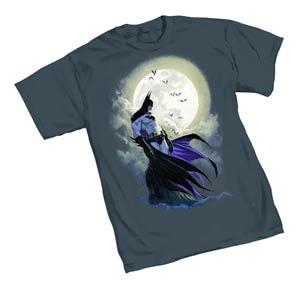 Batman Moon By Michael Turner T-Shirt Large