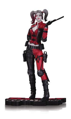 Harley Quinn Red White & Black Injustice Gods Among Us 2 Statue
