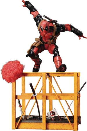 Marvel Now Super Deadpool ARTFX Statue