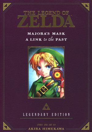 Legend Of Zelda Legendary Edition Vol 3 Majoras Mask & A Link To The Past GN