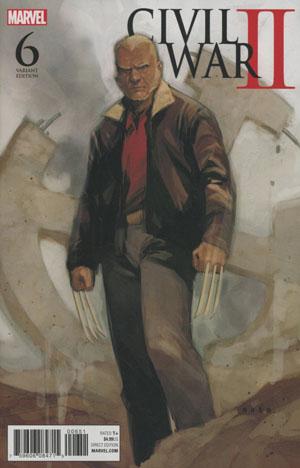 Civil War II #6 Cover D Incentive Phil Noto Old Man Logan Variant Cover