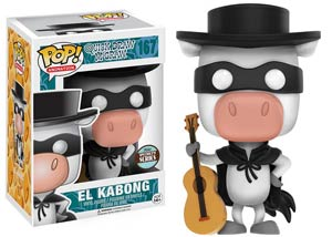 POP Animation 167 Quick Draw McGraw El Kabong Vinyl Figure