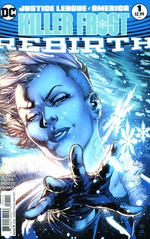 Justice League Of America Killer Frost Rebirth #1 Cover A Regular Ivan Reis & Joe Prado Cover