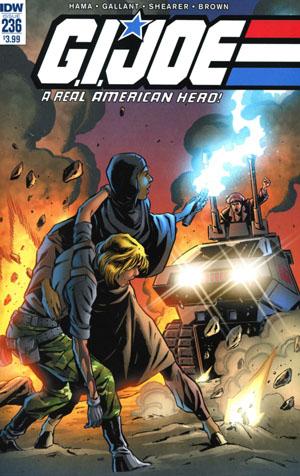 GI Joe A Real American Hero #236 Cover A Regular SL Gallant Cover
