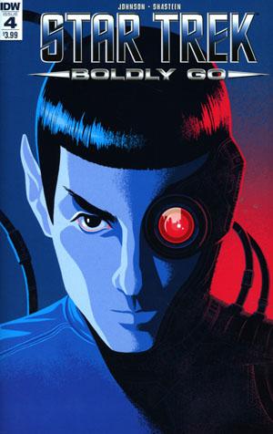 Star Trek Boldly Go #4 Cover A Regular George Caltsoudas Cover