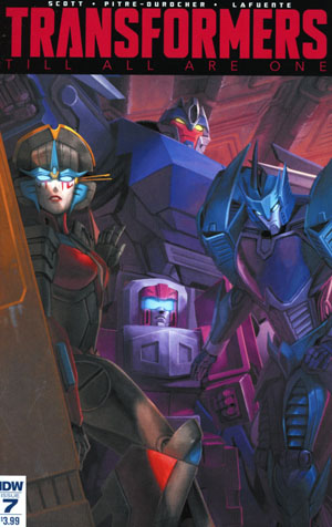 Transformers Till All Are One #7 Cover A Regular Sara Pitre-Durocher Cover
