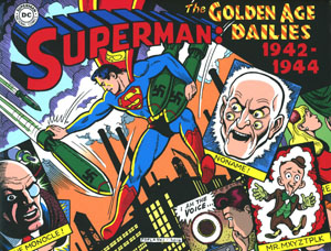 Superman The Golden Age Dailies 1942-1944 HC