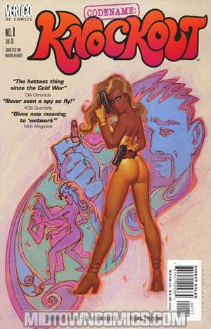 Codename Knockout #1 Cover A Chiodo Cover