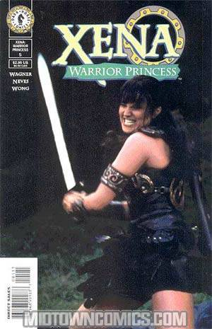 Xena Warrior Princess Vol 2 #5 Photo Cover
