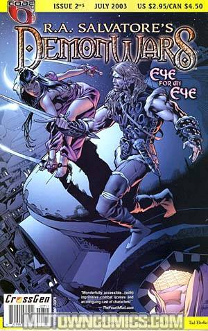 R A Salvatore Demon Wars Vol 2 Eye For An Eye #2
