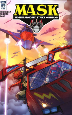M.A.S.K. Mobile Armored Strike Kommand Annual #1 Cover A Regular Andrew Griffith Cover