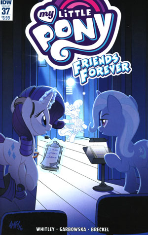 My Little Pony Friends Forever #37 Cover A Regular Tony Fleecs Cover