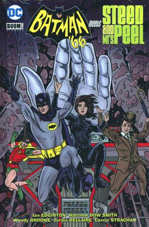 Batman 66 Meets Steed And Mrs Peel HC