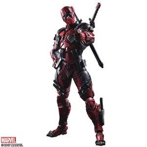 Marvel Comics Variant Play Arts Kai Action Figure - Deadpool