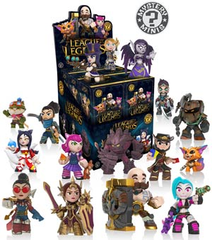 League Of Legends Mystery Minis Series 1 Blind Mystery Box
