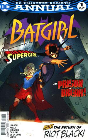 Batgirl Vol 5 Annual #1