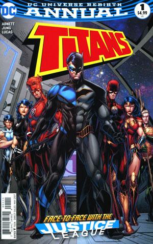 Titans Vol 3 Annual #1